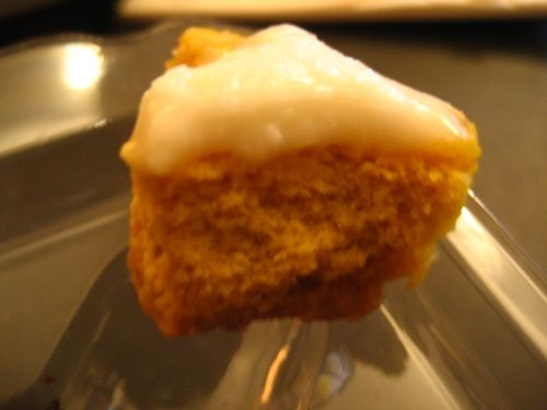Pumpkin Cheesecake Mini Bite