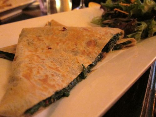 Crooked Spinach Crepe