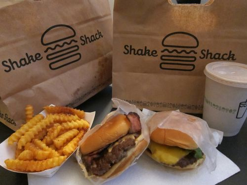 Disturbing Content Below Shake Shack Nutritional Info The Skinny Pig