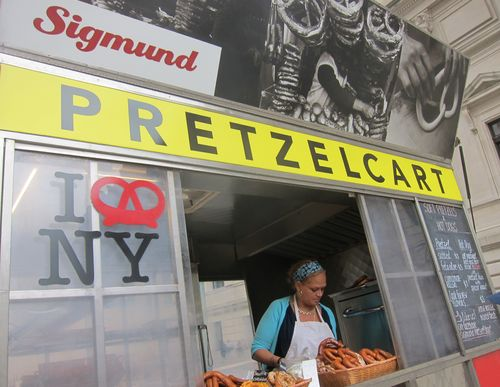 Sigmunds Pretzel Cart