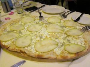 super thin crust just the way I like it..