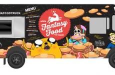 Comic Con truck