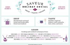 Saveur Holiday Social