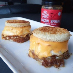 Bacon Jam stacks 1