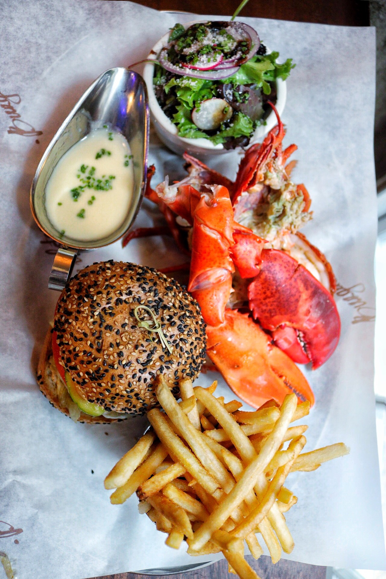 Burger & Lobster - NYC