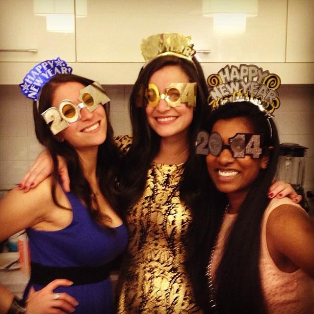 NYE 2013 my apt party