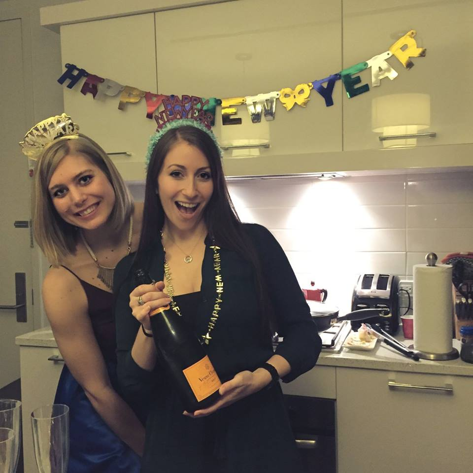 NYE 2015 my apt party again