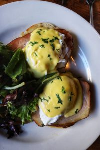 eggs benedict The Smith