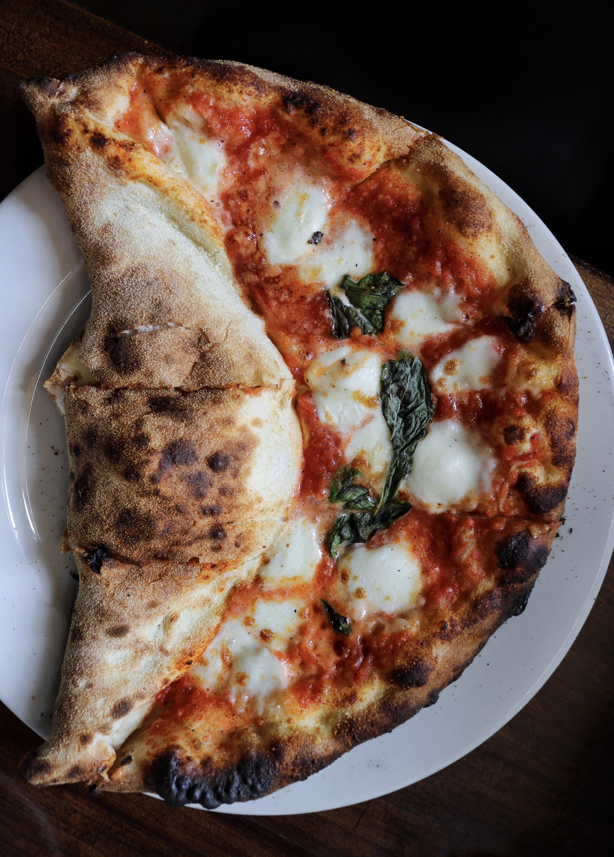 Mezzaluna Pie Patrizia's of Brooklyn