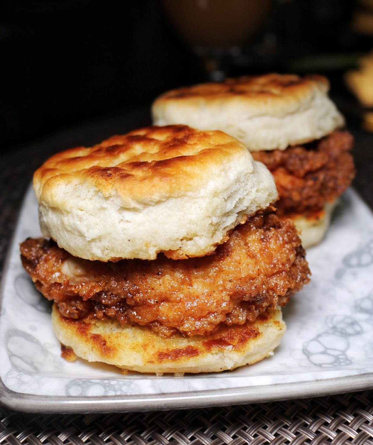 Fried Chicken Biscuit Fyve, Ritz Carlton Pentagon City