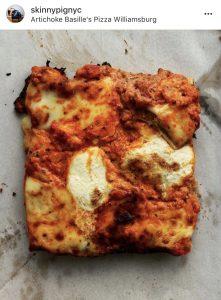 artichoke pizza nyc
