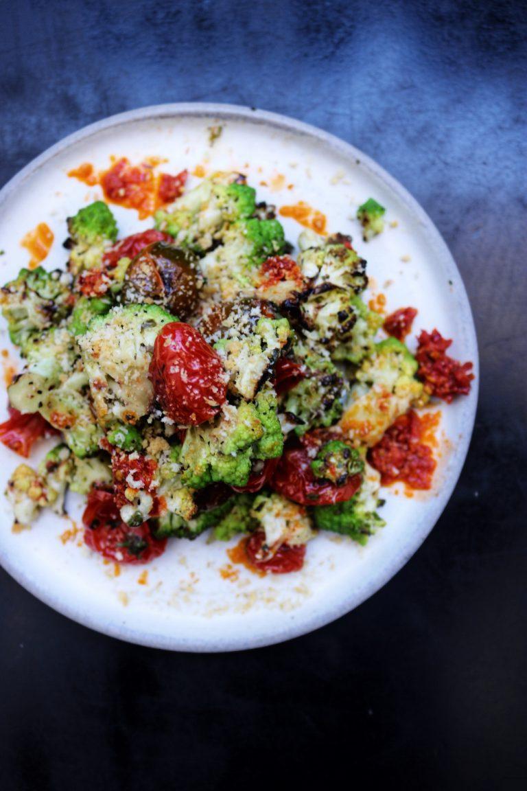 Pizzana - Broccoli and Romesco