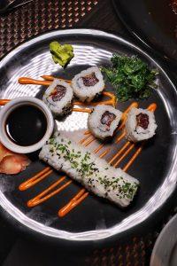 Tuna Sushi roll primal cut nyc