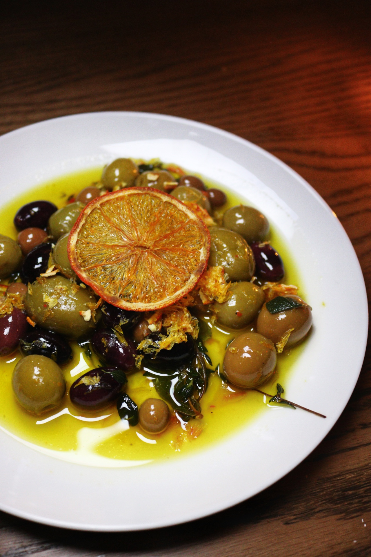 Marinated Spanish Olives nyc