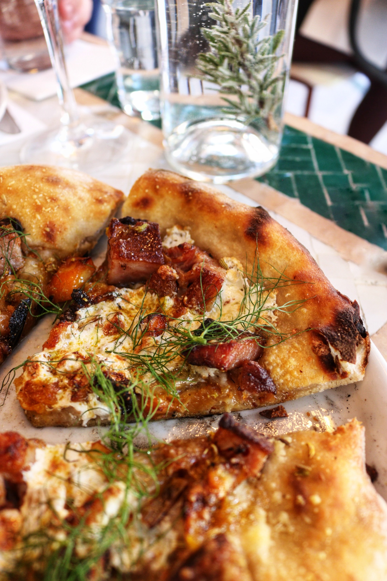Guanciale Rosemary's Pizza nyc