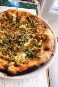 Clam Pie Rosemary's Pizza nyc