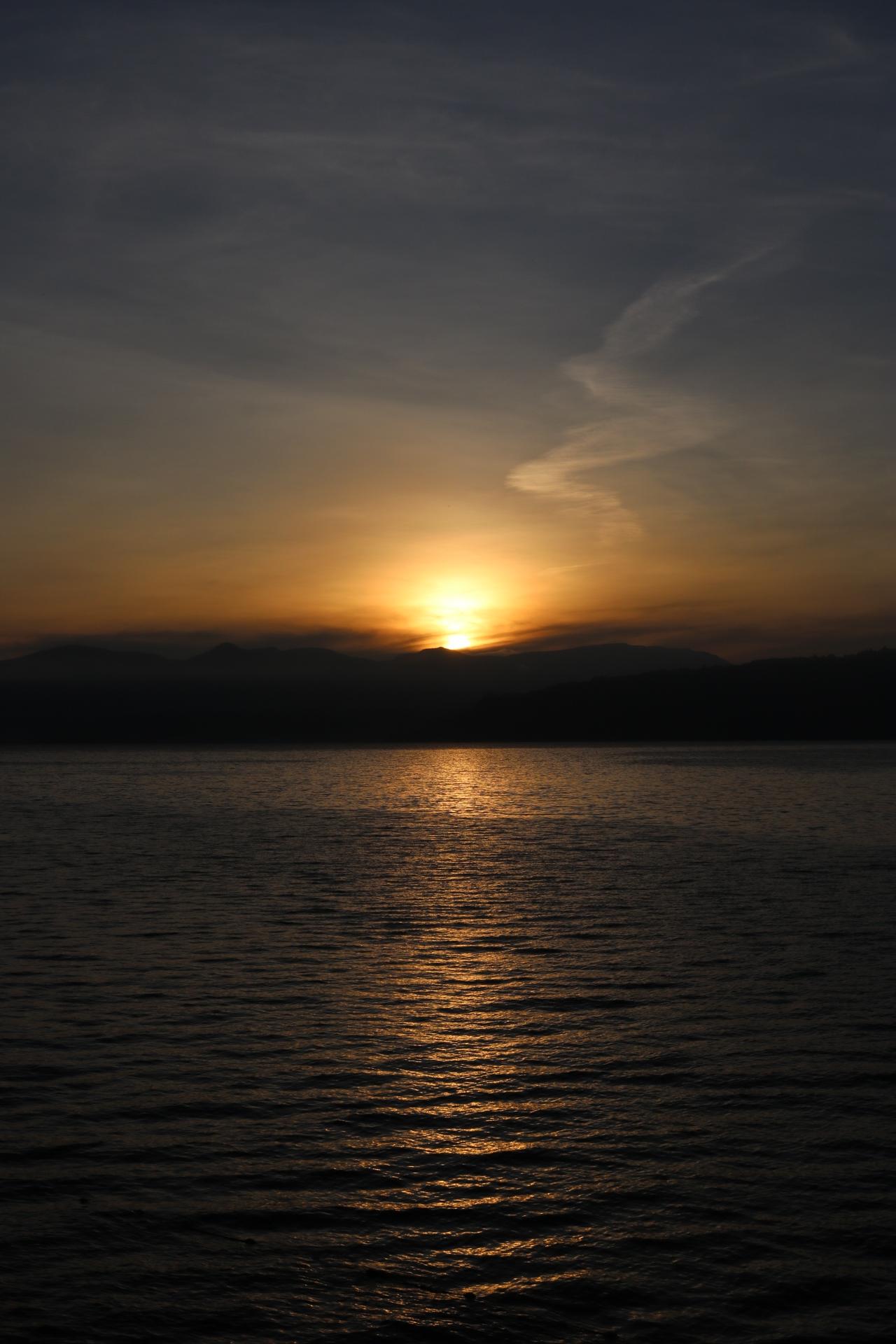 Lake Toba Sunrise