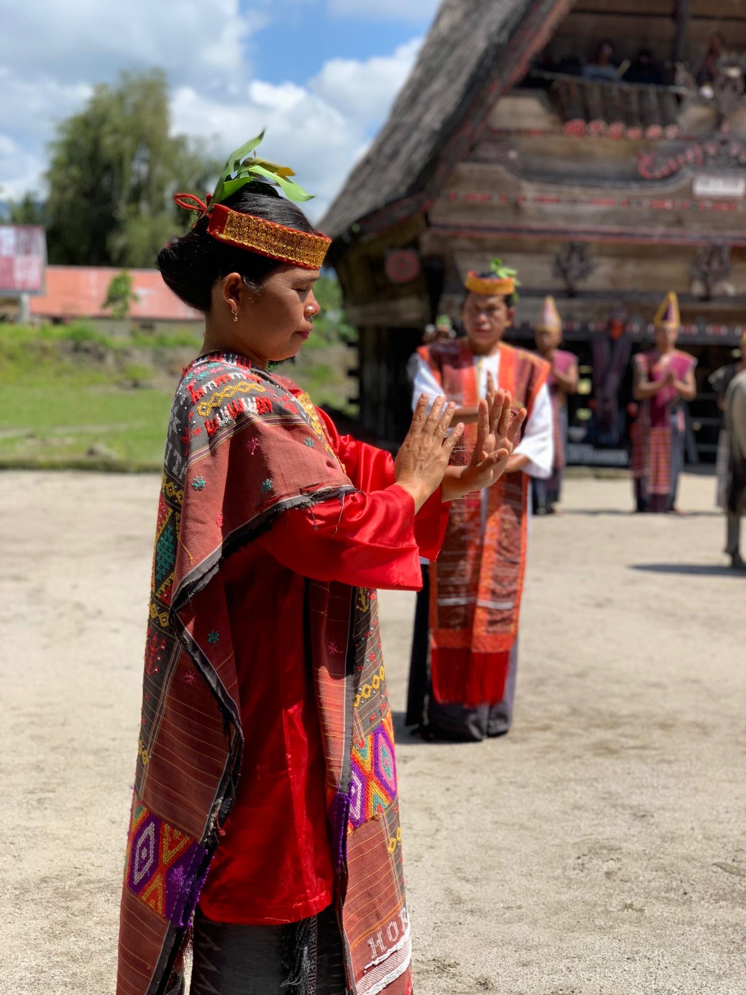 Lake Toba - Simanindo Village performance