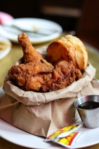 Brown Paper Bag Fried Chicken