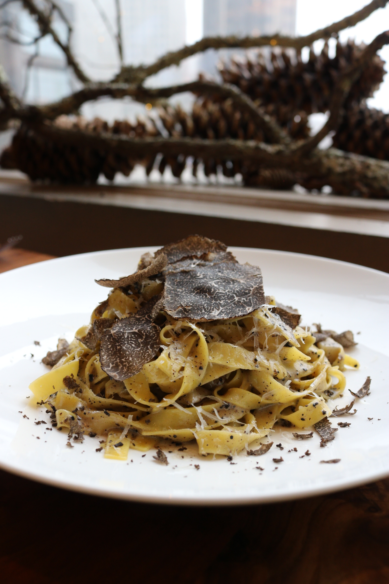 Truffle Pasta Bluebird London NYC