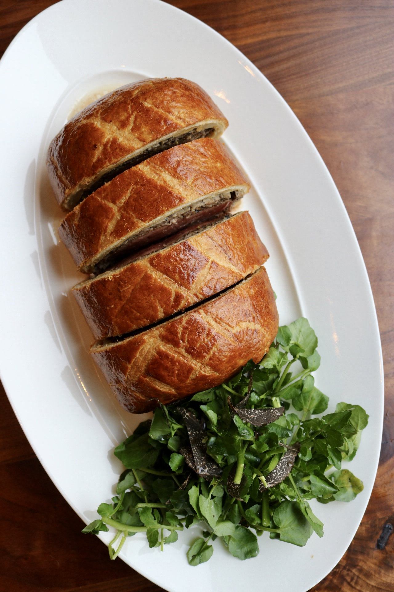 Beef Wellington Bluebird London NYC