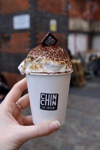Camden Market - Chin Chin (hot chocolate)