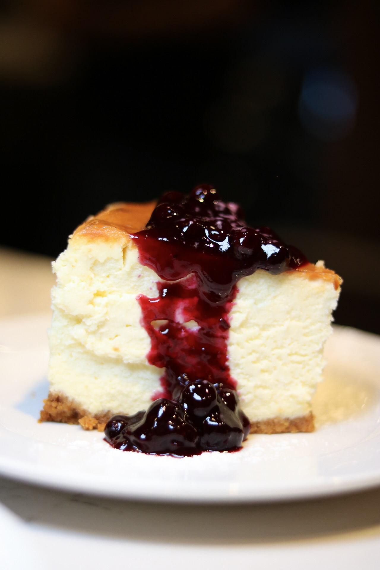 Clinton St. Baking Co. - Blueberry Cheesecake