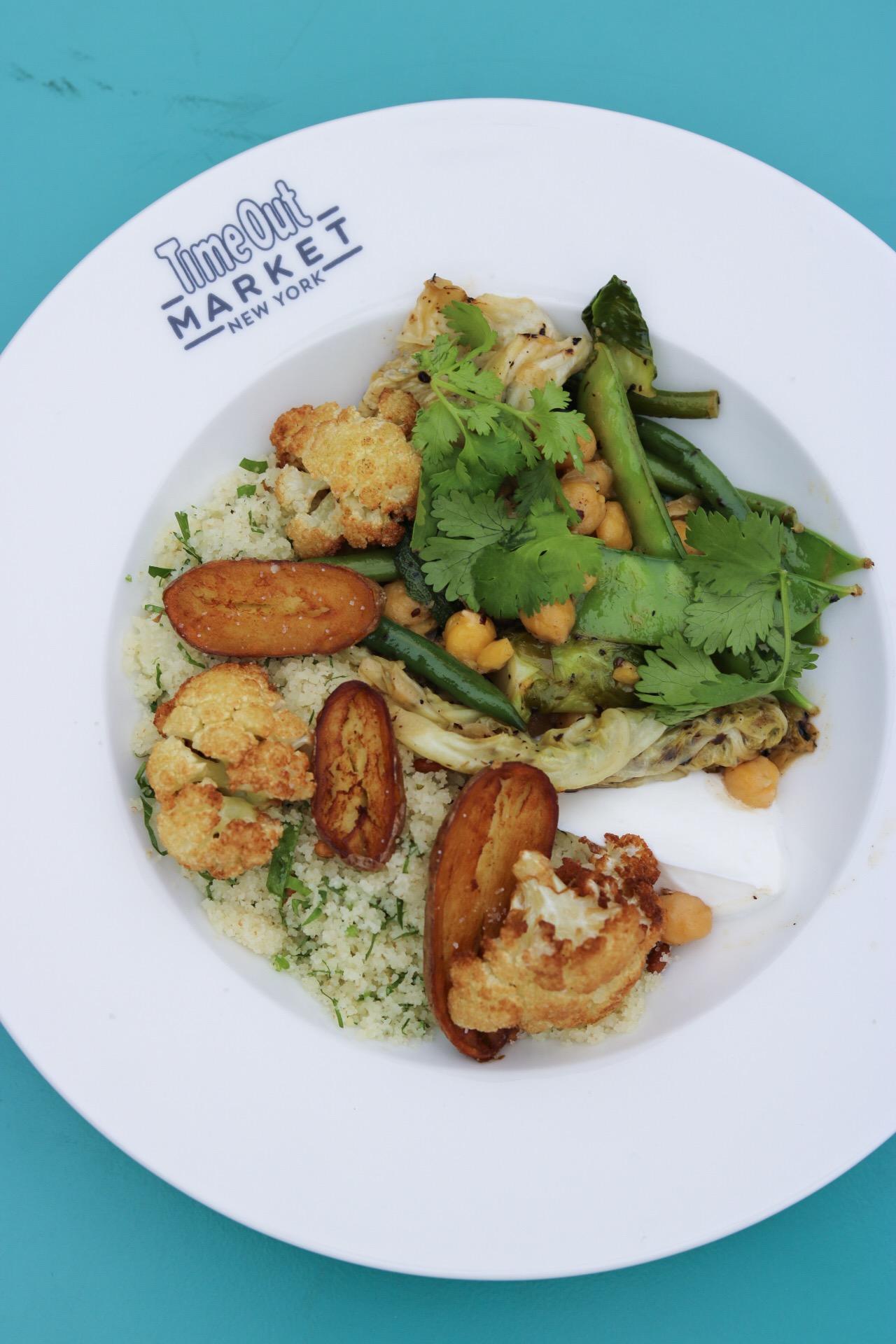 Nur - Vegetable Couscous- Time Out Market NY
