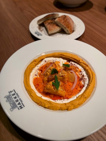 Little Ada Sweet Potato Hummus Time out market ny